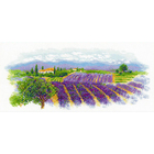Набор для вышивания Риолис №1690 «Цветущий прованс» 55*25 см