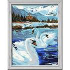 Набор для вышивания Риолис №662 «Лебеди» 26*38 см