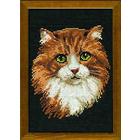 Набор для вышивания Риолис №765 «Рыжий кот» 21*30 см