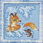 Набор для вышивания Риолис №797 «Лисёнок» 15*15 см
