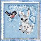 Набор для вышивания Риолис №798 «Зайчонок» 15*15 см