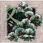 Набор для вышивания Риолис №814 «Зима» 20*20 см