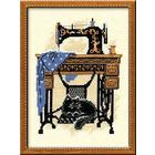 Набор для вышивания Риолис №857 «Швейная машинка» 18*24 см