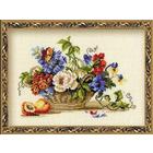 Набор для вышивания Риолис №864 «Натюрморт с персиком» 30*24 см