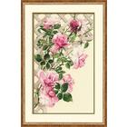 Набор для вышивания Риолис №898 «Розовые розы» 35*55 см