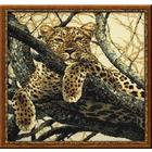 Набор для вышивания Риолис №937 «Леопард» 60*60 см