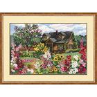 Набор для вышивания Риолис №978 «Цветущий сад» 38*28 см