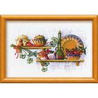 Набор для вышивания Риолис №992 «Полка с пряностями. Укроп» 30*21 см