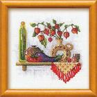Набор для вышивания Риолис №993 «Полка с пряностями. Физалис» 21*21 см