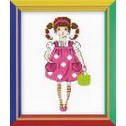 Набор для вышивания Риолис П-148 «Куколка» (НВ148) 13*16 см