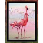 Набор для вышивания Риолис РТ-0012 «Фламинго» 30*40 см