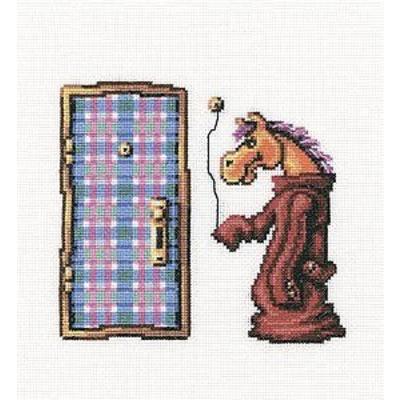 Набор для вышивания РТО C206 «Ход конем» 19*19 см в интернет-магазине Швейпрофи.рф