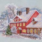 Набор для вышивания РТО M088 «Рождество» 30*30 см