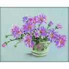 Набор для вышивания РТО M203 «Букет хризантем» 25*25 см