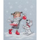 Набор для вышивания РТО M652 «В вальсе снежинок» 17*21 см