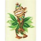 Набор для вышивания РТО R243 «Танцующая Обезьянка» 18*21 см