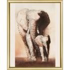 Набор для вышивания Чаривна Мить №067 КС «Величие. Слоны»