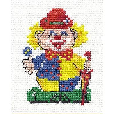 Набор для вышивания Чудесная Игла №10-07 «Клоун» (снят) в интернет-магазине Швейпрофи.рф