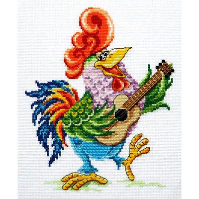 Набор для вышивания Чудесная Игла №19-23 «Проснись и пой» 18*22 см в интернет-магазине Швейпрофи.рф