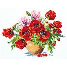 Набор для вышивания Чудесная Игла №40-06 «Маки» 34*25 см