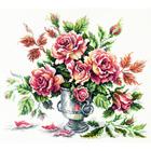 Набор для вышивания Чудесная Игла №40-71 «Розовая нежность» 30*27 см