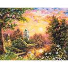 Набор для вышивания Чудесная Игла №43-08 «Вечерний звон» 40*31 см