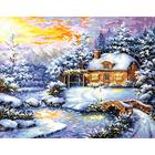 Набор для вышивания Чудесная Игла №45-08 «Зимняя сказка» 40*32 см