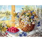 Набор для вышивания Чудесная Игла №50-06 «Летнее утро» 40*30 см
