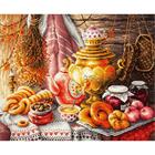 Набор для вышивания Чудесная Игла №50-09 «У самовара» 40*34 см