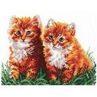 Набор для вышивания Чудесная Игла №58-05 «Рыжие друзья» 22*18 см