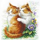 Набор для вышивания Чудесная Игла №58-11 «Нежная забота» 24*26 см