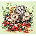 Набор для вышивания Чудесная Игла №58-12 «Милые созданья» 35*31 см