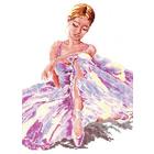 Набор для вышивания Чудесная Игла №65-01 «Балерина» 24*30 см