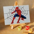 Набор для раскрашивания Hobbart (10*15) M1015074 «Spiderman. Человек-паук: в центре паутины»