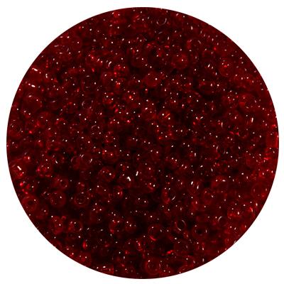 Астра бисер (уп. 20 г) №0005В т.-красный прозрачный в интернет-магазине Швейпрофи.рф