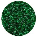 Астра бисер (уп. 20 г) №0007В зеленый прозрачный