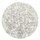 Астра бисер (уп. 20 г) №0021 белый с серебр. центром