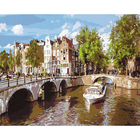 Набор для раскрашивания Paintboy GX5908 «Утренний Амстердам»