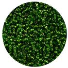 Астра бисер (уп. 20 г) №0027 св.-зеленый с серебр. центром
