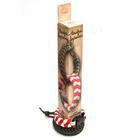Набор для творчества Вяжи веревки арт.492 Косичка красно-белая 28*4*4 см