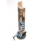 Набор для творчества Вяжи веревки арт.508 Косичка сине-белая 28*4*4 см