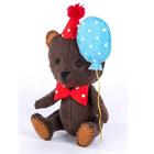 Набор для шитья Кукла Перловка из фетра ПФД-1051 «Happy Мишка» 11,5 см