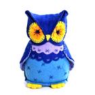 Набор для шитья Кукла Перловка из фетра ПФЗД-1001 «Мудрая сова» 14*5 см