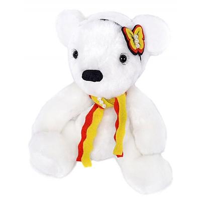 Набор мягкая игрушка ММ-008 «Белая медведица» 25 см в интернет-магазине Швейпрофи.рф
