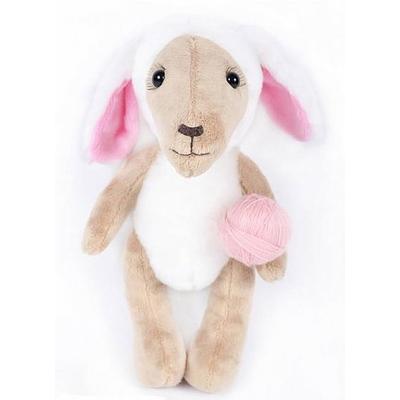 Набор мягкая игрушка ММ-009 «Овечка-рукодельница» 25 см в интернет-магазине Швейпрофи.рф