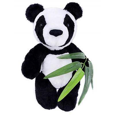 Набор мягкая игрушка ММ-023 «Панда с бамбуком» 30 см в интернет-магазине Швейпрофи.рф