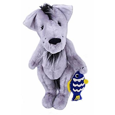 Набор мягкая игрушка ММ-025 «Грустный волк» 35 см в интернет-магазине Швейпрофи.рф