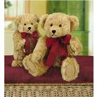 Набор текстильная игрушка Glorex 04524-1 медведь Nestor 40 см
