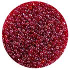 Астра бисер (уп. 20 г) №0105В т.-красный прозрачный