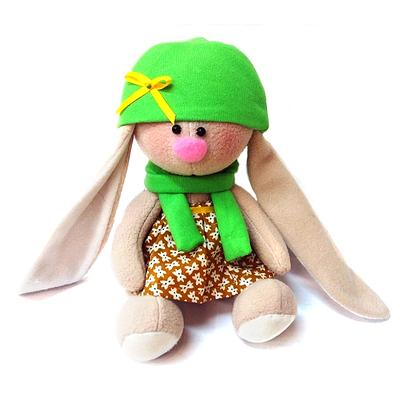 Набор текстильная игрушка Happy Hands M3-03 «Зайка Фасолька» 20 см в интернет-магазине Швейпрофи.рф